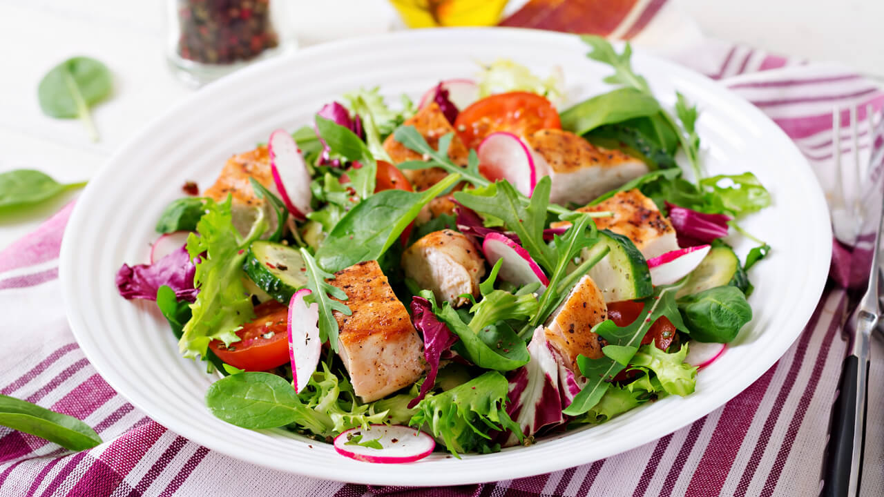 rosemary-chicken-salad-with-herb-vinaigrette