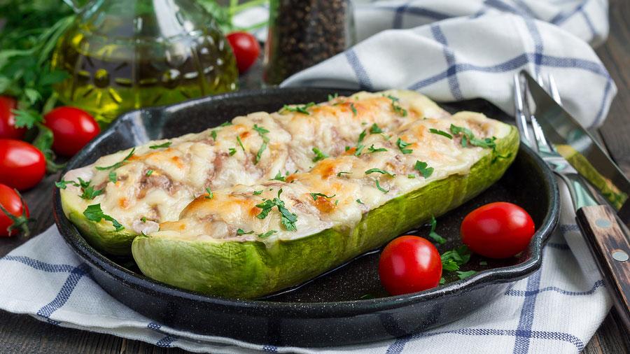 keto-tuna-melt-on-zucchini