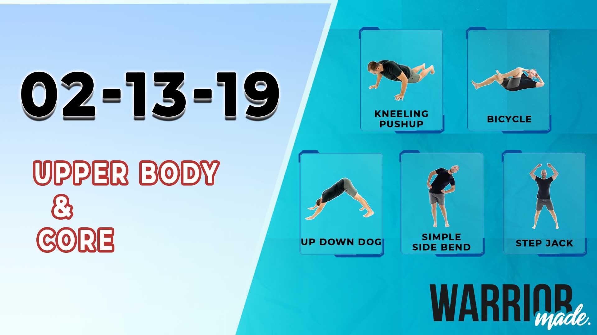 workouts-02-13-19