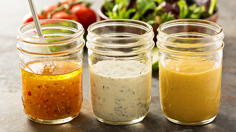 Easy Keto-friendly Salad Dressings