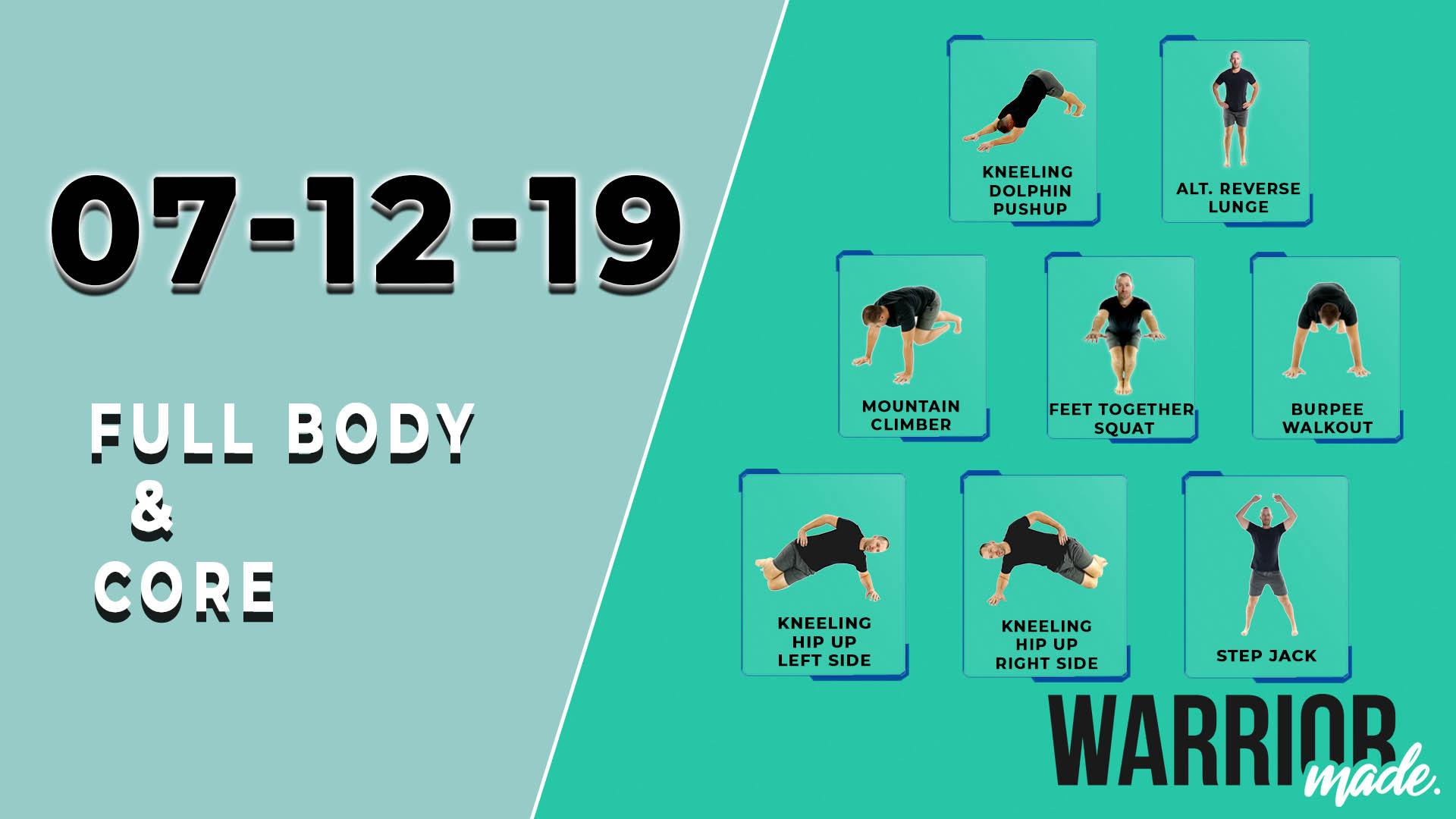 workouts-07-12-19