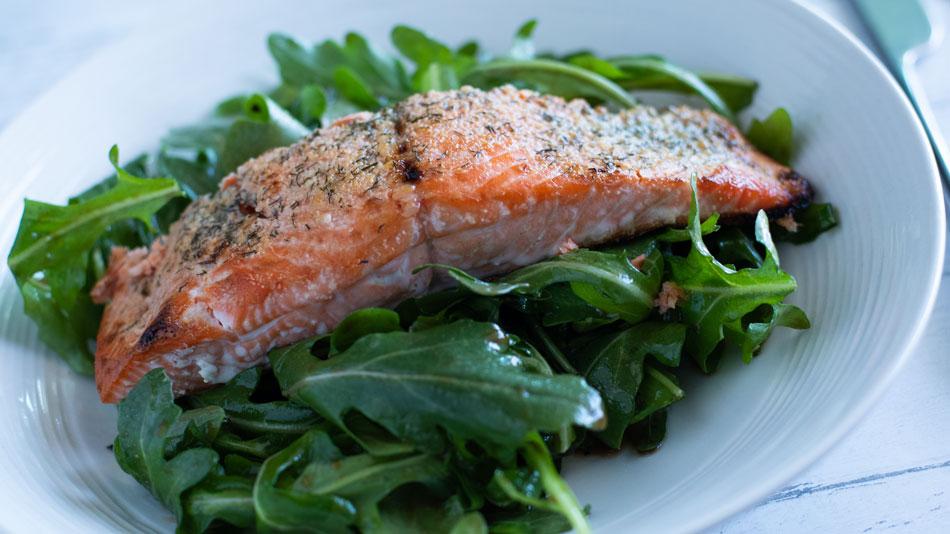 baked-salmon-salad