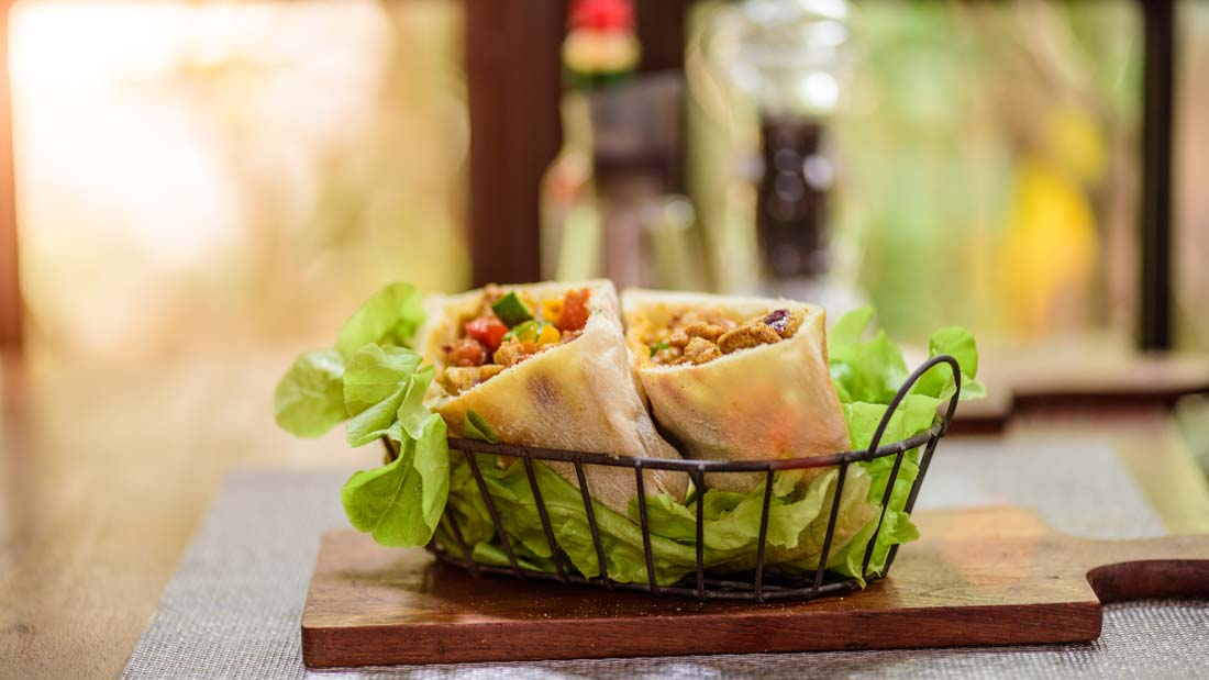 curry-chicken-wraps