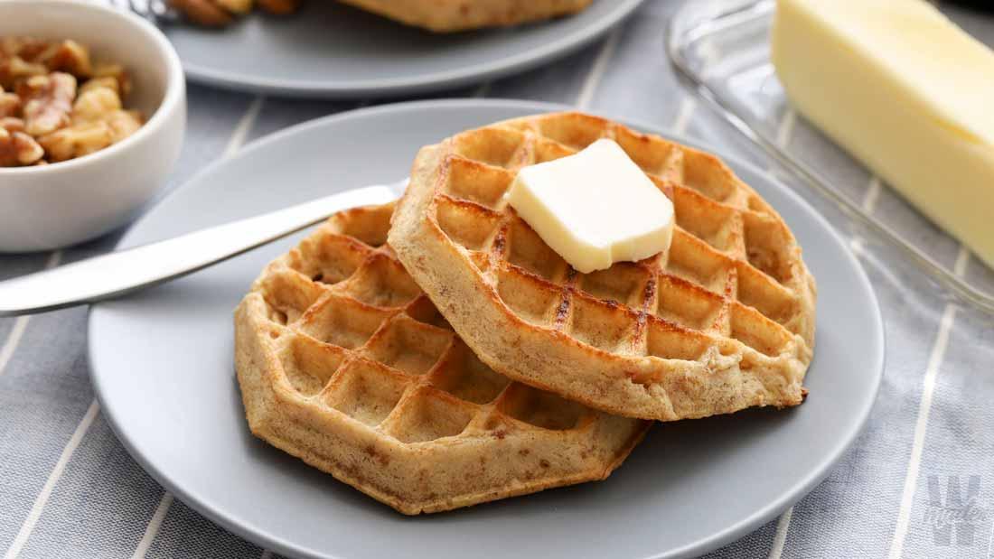almond-flour-waffles