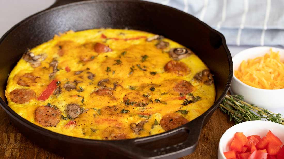 low-carb-breakfast-frittata