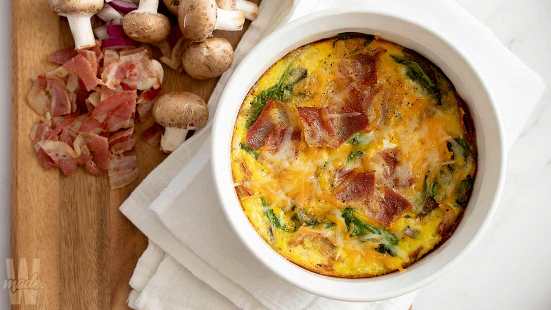 bacon-egg-and-spinach-casserole