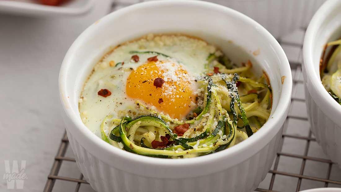 baked-parmesan-zucchini-egg-nests