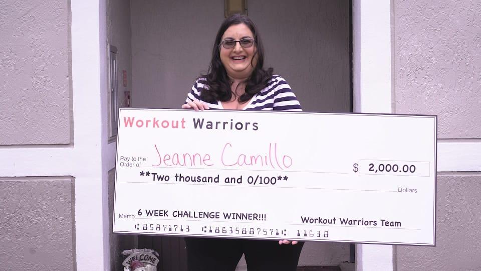 Challenge Winner Jeanne