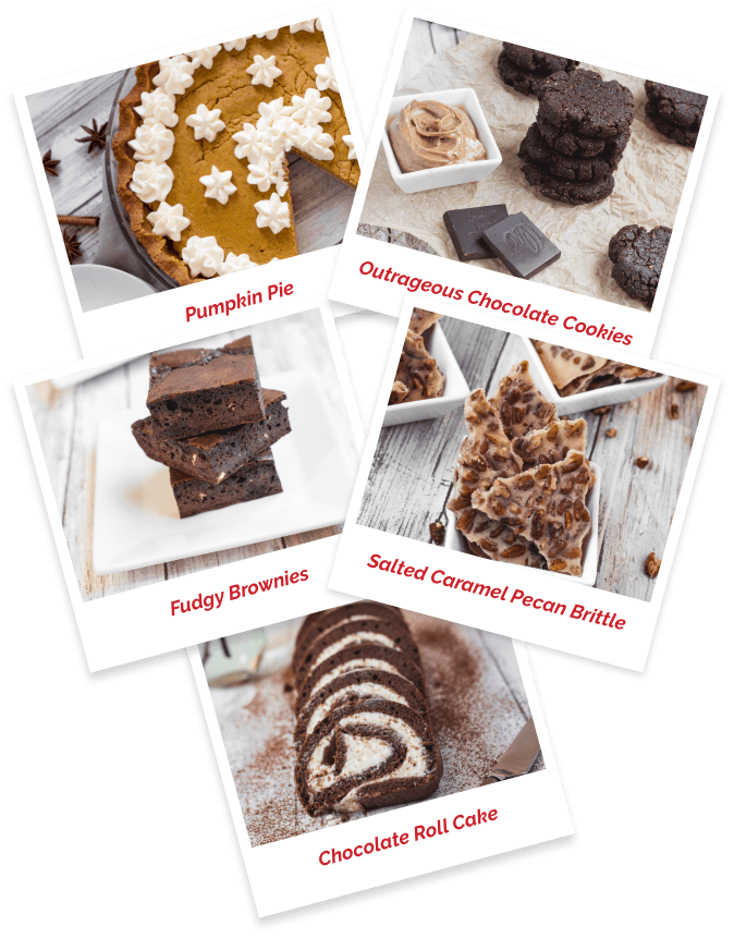 Groups of Desserts