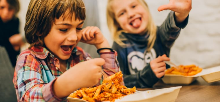 Kids Enjoying Keto Carbs