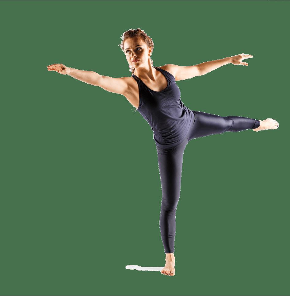 Yoga Girl Standing