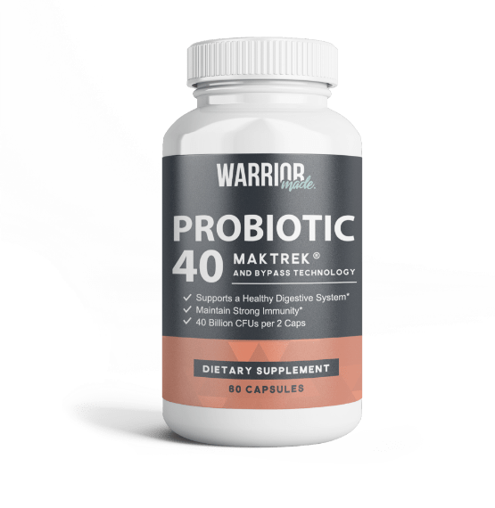 Warrior Made Probiotic 40