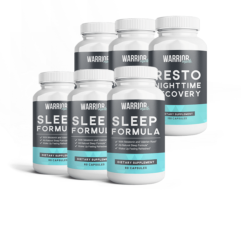 3 Month Sleep and Recovery Bundle